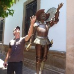 Don Quixote and I found we have one or two things in common