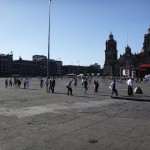 Zocalo, the main square in Mexico City