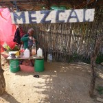 I have a rule:  The first time I see food or drink being sold on the side of the road, I must buy it.  I was overjoyed to by mezcal from this grandmother.  Cost me a whopping $3 for a litre