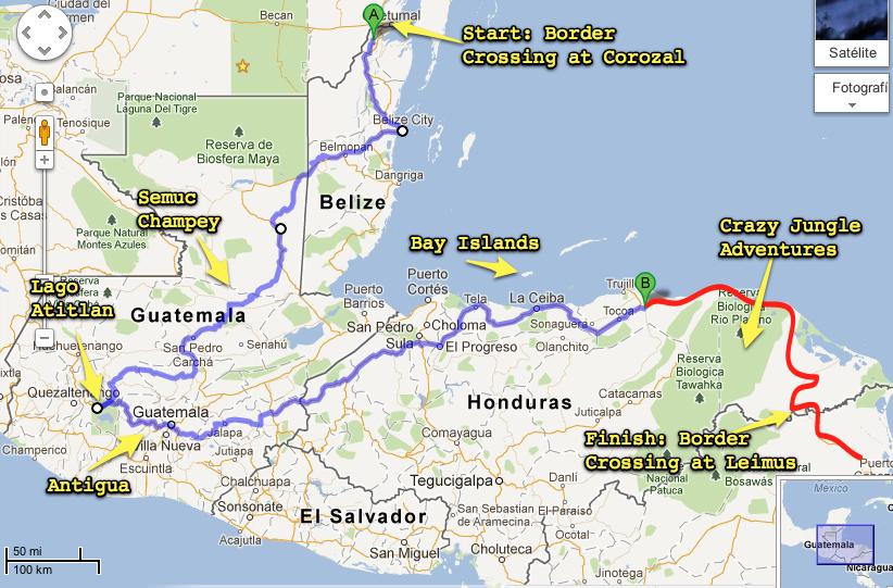 Stage 5: Belize, Guatemala, and Honduras AKA Operation: Jungle ...
