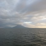 The boat to Isla Ometepe